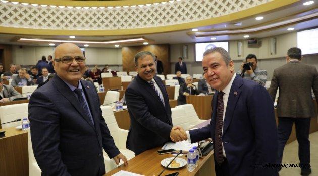 Büyükşehir 2019'un Son Toplantısını Yaptı