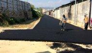 Büyükşehirden Alanya Sanayi Sitesi'ne asfalt