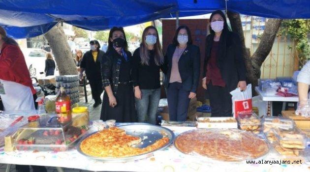 CHP'li kadınlar Ahmet bebek için durmuyor