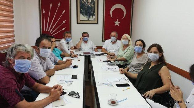 CHP Şebnemler İçin Maske Taktı