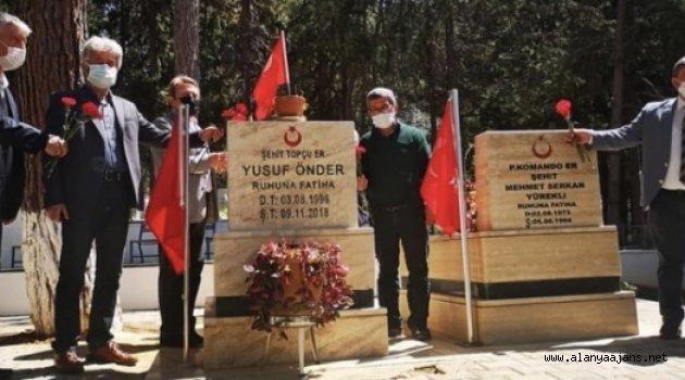 CHP şehitleri unutmadı