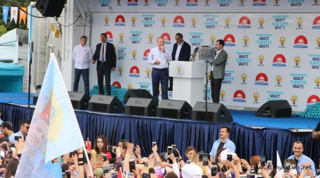 "Cumhurbaşkanı Erdoğan, ""Alanya'ya selam olsun"""