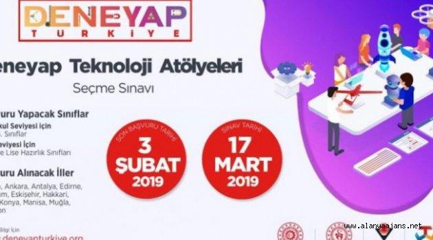 DENEYAP 2019 sonuçları açıklandı