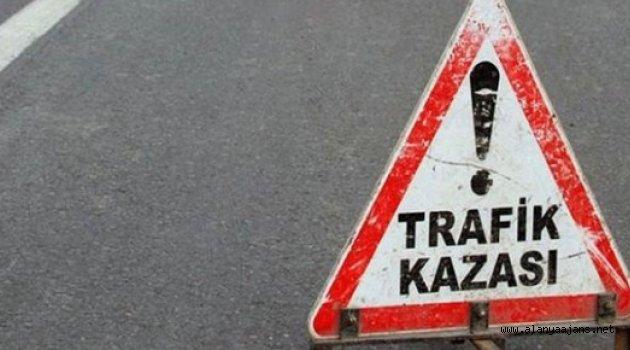 Feci Kazada Araç Şoförü Hayatını Kaybetti