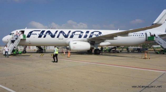 Gazipaşa-Alanya Havalimanında dış hat uçuşları başladı
