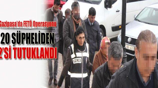 Gazipaşa'da Fetö'den 2 Tutuklama