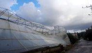 Gazipaşa'da Hortum Tarım Alanlarına Zarar Verdi