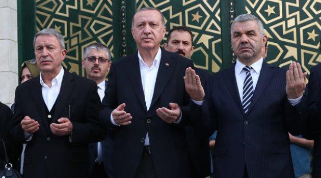 Hulusi Akar Camii törenle açıldı