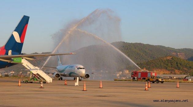 İlk İran Uçağı Alanya- GZP'da