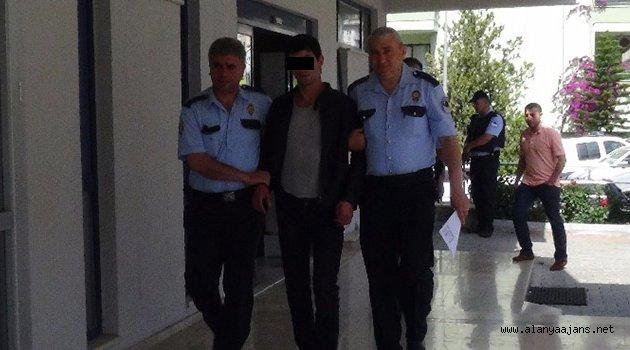 İthal hırsızlık zanlısı tutuklandı