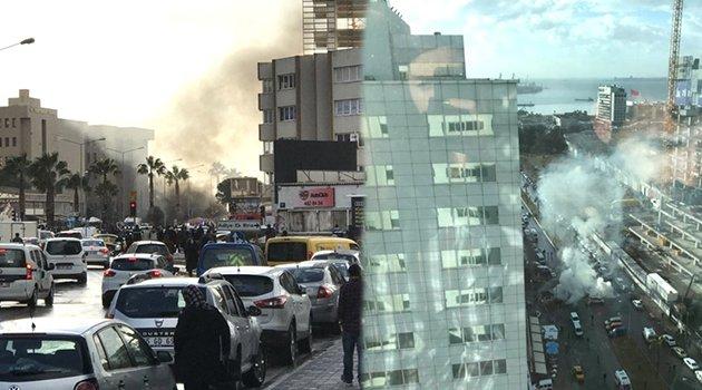 İzmir'de Adliye Önünde Patlama! 2 Terörist Öldürüldü
