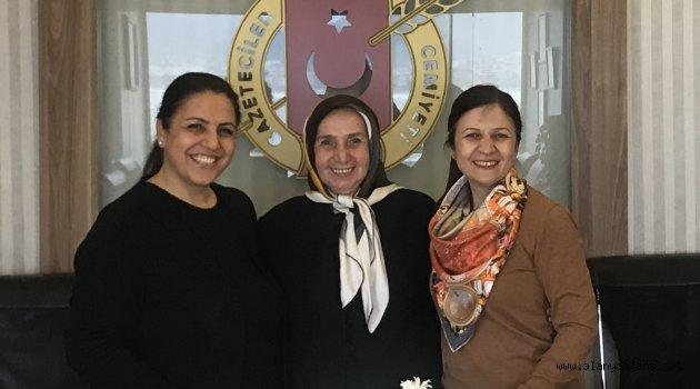Kadın Muhtar Adayından AGC'ye Ziyaret
