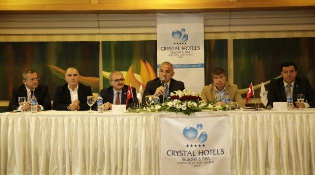 Kültür ve Turizm Bakanı Ersoy, Asat Tesislerini İnceledi