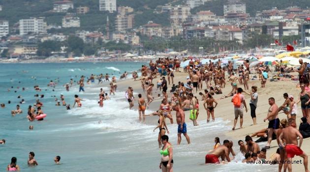 Alanya turizmine bayram dopingi