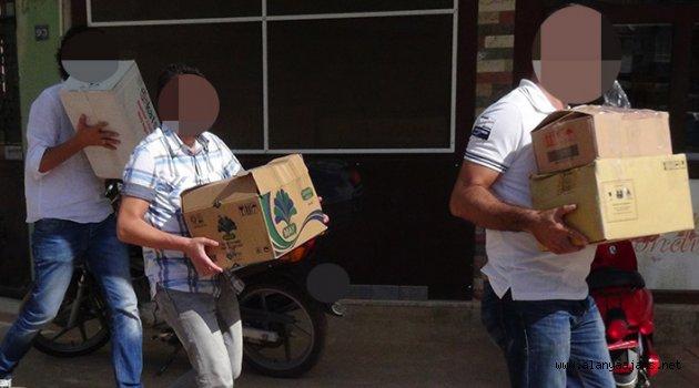 Alanya'da FETÖ operasyonunda 4 gözaltı
