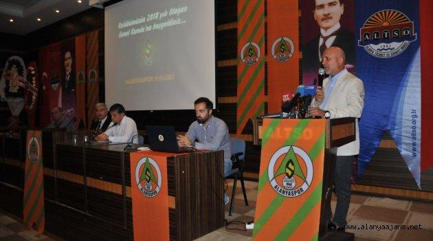 Alanyaspor'un Genel Kurulu Başladı
