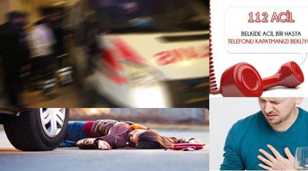 Ambulans ishal vakasına gidince ağır yaralı...