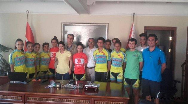 Bisiklet takımı Türkiye Şampiyonu oldu