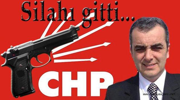 CHP'li Başkanın Silahı Çalındı