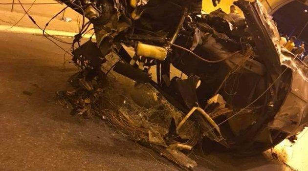 Feci kazada 2 kişi öldü