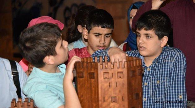 Görme engelli öğrenciler Kızılkule ve Tersane