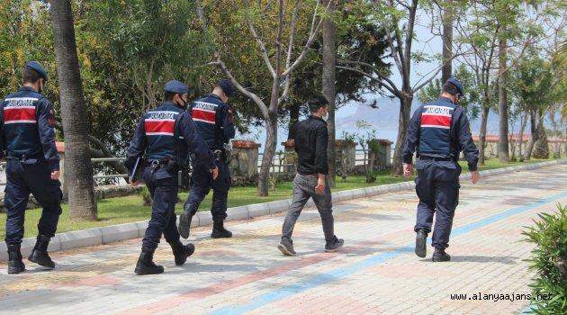 Jandarma Sokağa Çıkan 198 Kişiye Ceza Yazdı