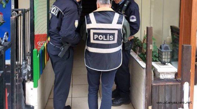 Polisten günübirlik kiralık evlere şok baskın!