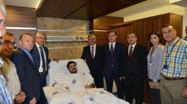 Makamında Vurulan Cumhuriyet Savcısı Normal Servise Alındı