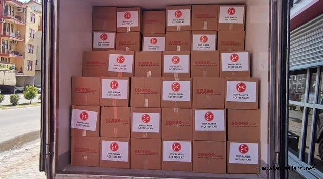 MHP'nin Ramazan kolileri hazır