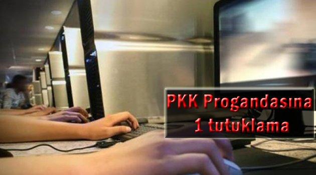 PKK propagandasına 1 tutuklama