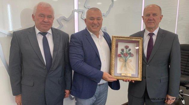 Şahin, Belarus Temaslarını Sürdürüyor