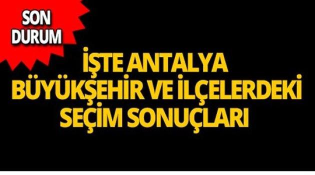Sandıkların %99'u açıldı! İşte Antalya'da son durum