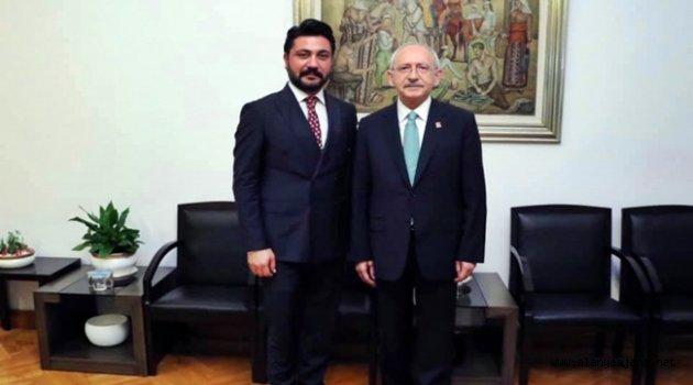 Sipahioğlu'ndan Kılıçdaroğlu'na  ziyaret