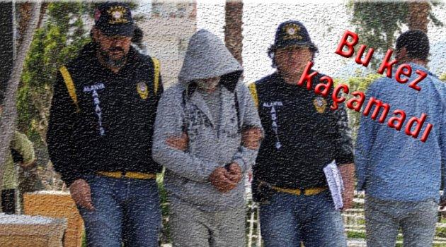 Suç makinası Alanya'da yakalandı