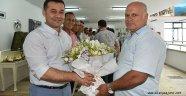 Başkan Yücel belediye personeliyle bayramlaştı