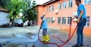 Alanya'da okullar pırıl pırıl