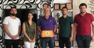 CHP'li gençler Başkan Çavuşoğlu'nu ziyaret etti