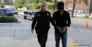 Alanya'da üvey kızana cinsel istismardan tutuklandı