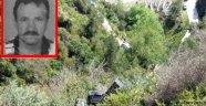 Alanya'da aracıyla uçurma yuvarlanan sürücü öldü