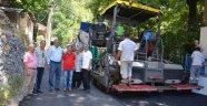 Mahmutseydi'de sıcak asfalt sevinci