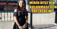 Alanya'da 15 yaşındaki Ayşe 3 gündür kayıp