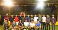 AK Parti Alanya yönetimi dostluk maçında buluştu
