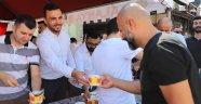 Ak Parti Alanya'da Aşure Dağıttı