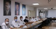 Ak Parti İlçe Başkanları toplandı