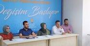 AK Parti İlçe Teşkilatı haftalık toplantısı Çelik eşliğinde gerçekleşti