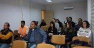 Alanya Belediyesi'nden palmiye böceğiyle mücadele eğitimi