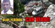 Alanya'da araç 50 metrelik uçurumdan yuvarlandı: 1 ölü 1 yaralı