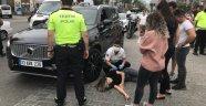 Alanya'da cip ile elektrikli bisiklet çarpıştı: 1 yaralı