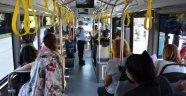 Alanya'da halk otobüsleri denetlendi
