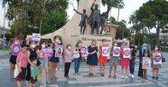 Alanya'da kadın cinayetlerine tepki!